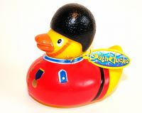 Guard rubber duck