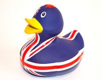 Union jack bath duck