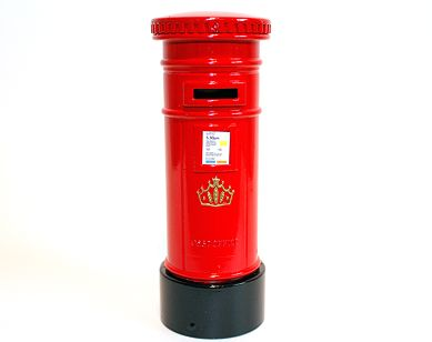 Postbox diecast moneybank