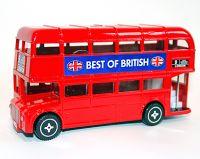 Double decker bus moneybank