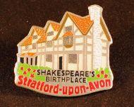 Shakespeare's Birthplace fridge magnet