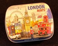 London mini mints tin
