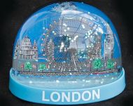 London Eye plastic snowglobe