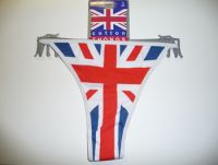 3 pairs Union jack thongs